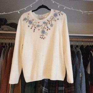 Creme sweater